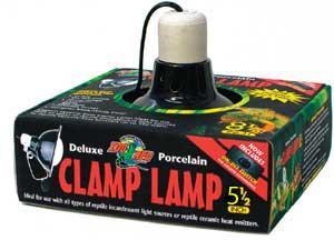 Zoo Med Black Ceramic Mini Clip Lamp For Sale