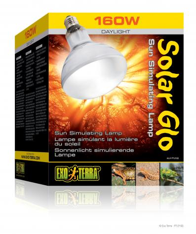 exo terra 125 watt solar glo bulb. Black Bedroom Furniture Sets. Home Design Ideas
